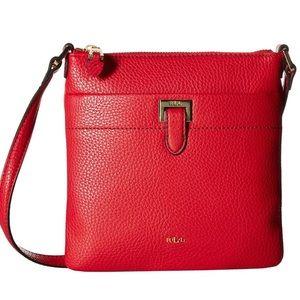 Perfect Lauren Ralph Lauren Red Crossbody Bag